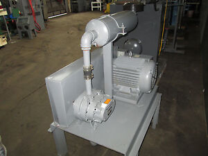Positive Displacement Sutorbilt Pump And Motor 15 Hp