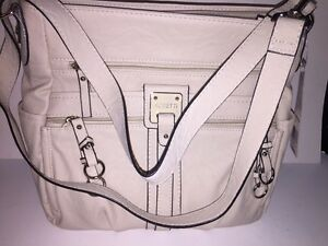 ROSETTI-Women-039-s-Double-Duty-Bucket-Handbag-Bag-034-ANTIQUE-WHITE-034-NEW-Tags