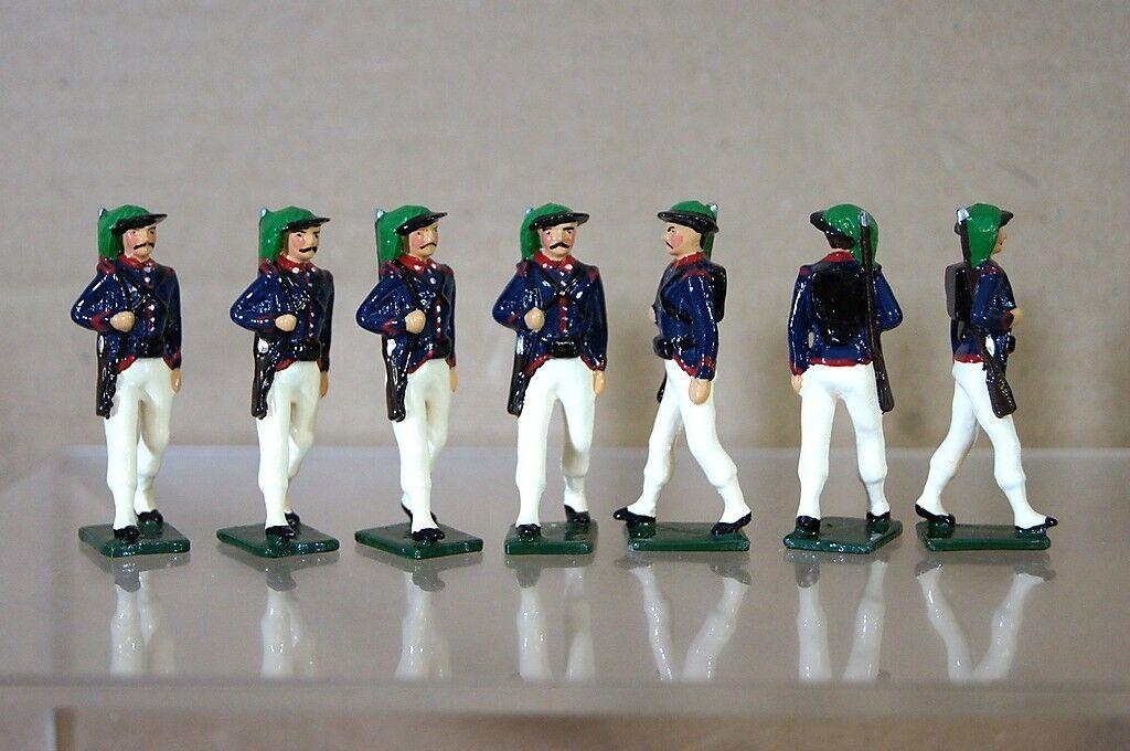 Réplica Modelos Patricio Campbell Nostalgia Italiano Bersagleiri Infantería X 7