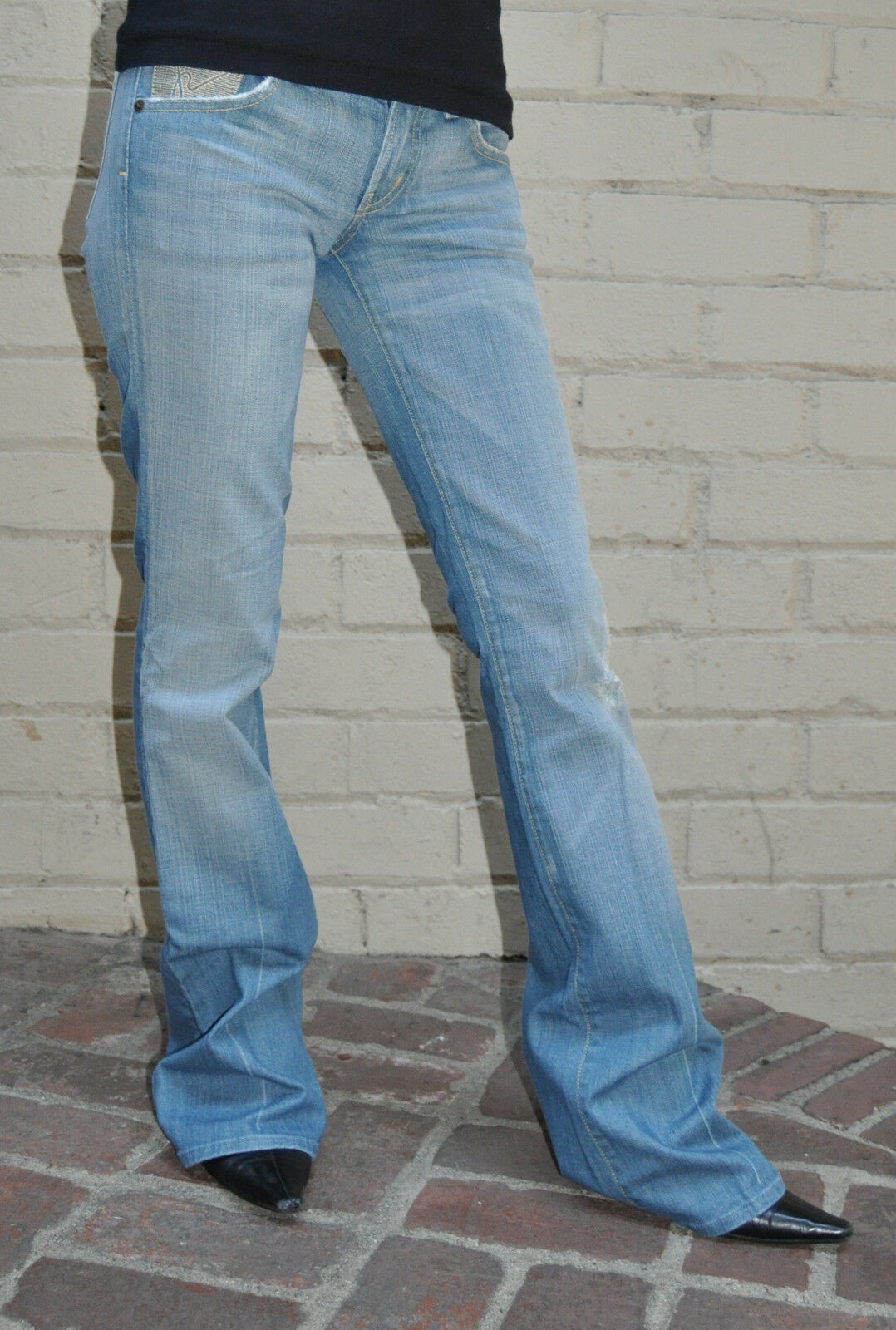 Citizens Of Humanity Ingrid Bolinas bluee Jeans 25 USA Bootcut Womens