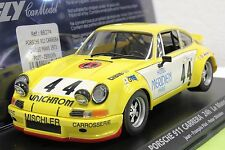 FLY 88274 PORSCHE 911 24 HOURS OF LE MANS 73' NEW 1/32 SLOT CAR IN DISPLAY CASE