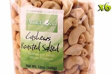 72oz Gourmet Style Bags of Roasted Salted Whole Premium Cashews [4 1/2 lbs.]
