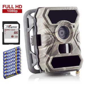 Wildkamera-Uberwachungskamera-SECACAM-RAPTOR-Full-HD-12-MP-Premium-Pack