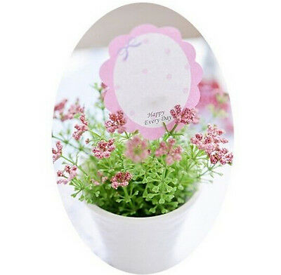 FD931 Cute Flower Flora Bookmark Marker Memo Flags Tab Sticky Note 1pc:)