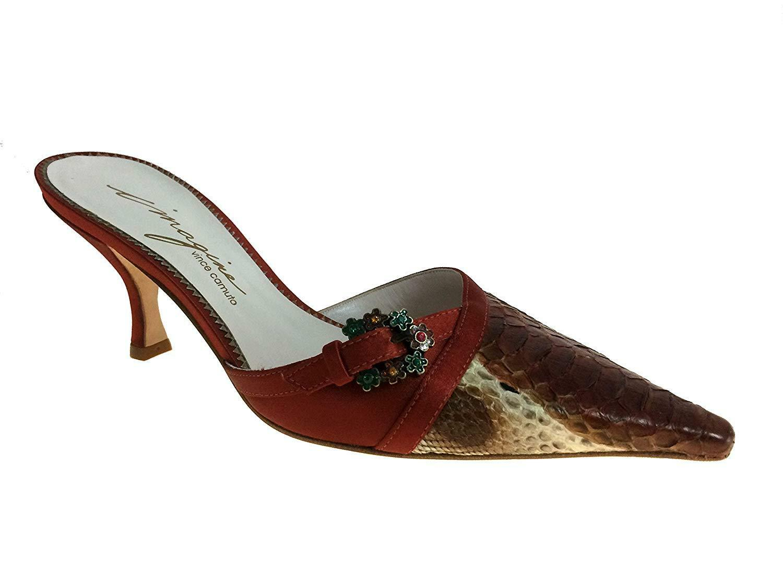 Imagine Vince Camuto Rochelle Brick Brick Brick Snake Women's shoes Size 6 7738bd