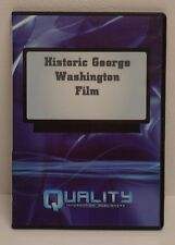 Historic George Washington Film (Quality Information Publisher DVD) 2007