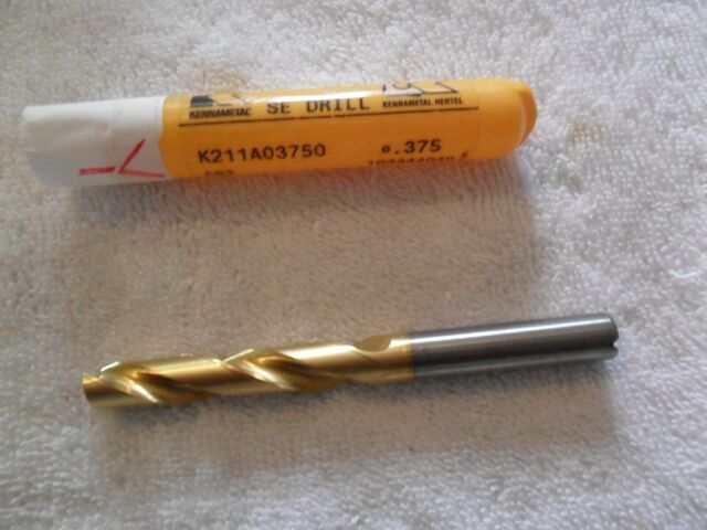 11//16 Solid Carbide 5xD High Performance Drill-TiAlN