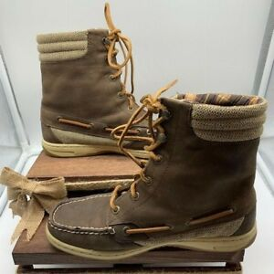 Womens SPERRY brown Ankle Boots Leather