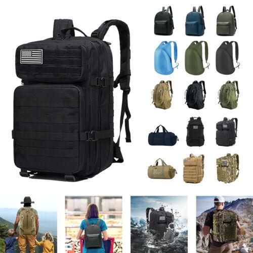 30L 40L Outdoor Military Tactical Rucksack Backpacks Hiking Camping Bag