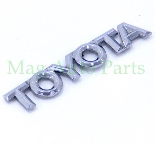 Toyota Corolla script emblem decal trunk 98-02 rear sedan nameplate badge 99 01