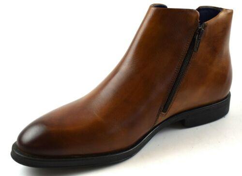 Daniel Hechter 811-54720-1100-6300 Herren Boots Cognac Glattleder