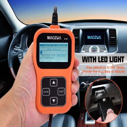 MAOZUA Z130 OBD2 EOBD Fault Code Reader Scanner Car Engine Scan Diagnostic Tool