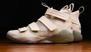 4250f120745d2 Nike Lebron Soldier XI SFG 897646 005 Men s Size US 13.5 light bone ...