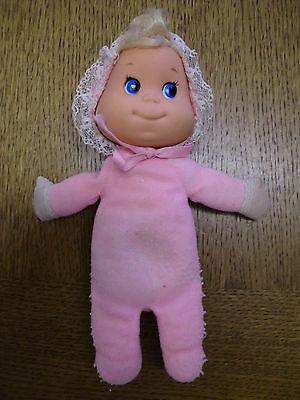 Alte Seltene Bohnenpuppe Puppe Mattel 1970 Baby Rosa Vintage Kellerfund Erfrischung