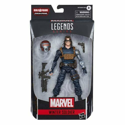 IN STOCK! Black Widow Marvel Legends 6-Inch Winter Soldier Action Figure HASBRO