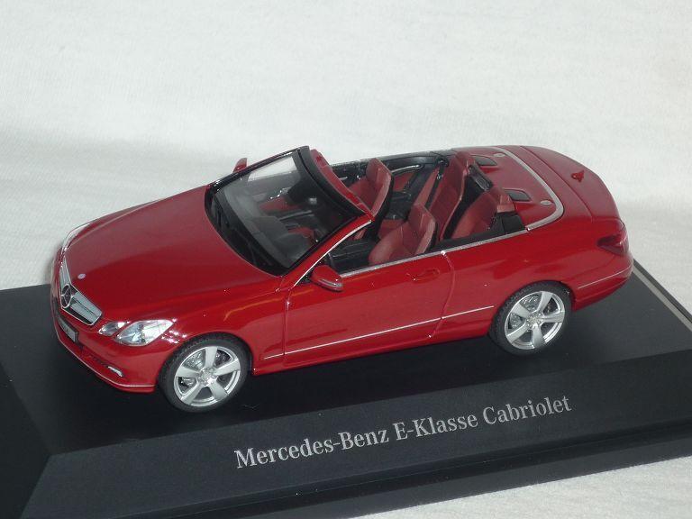 Mercedes-benz clase e converdeible fuego Opal rojo a207 a207 a207 antes Facelift 2009-2013 1 43 S.. 3d00f7