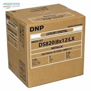 DNP Mediaset METALLIC für DS 820 Drucker 20x30cm (8x12inch) für 110 Prints