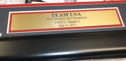 2015 WOMEN/'S WORLD CUP TEAM USA CHAMPIONS FRAMED 8X10 PHOTO  ALEX MORGAN SOLO #1
