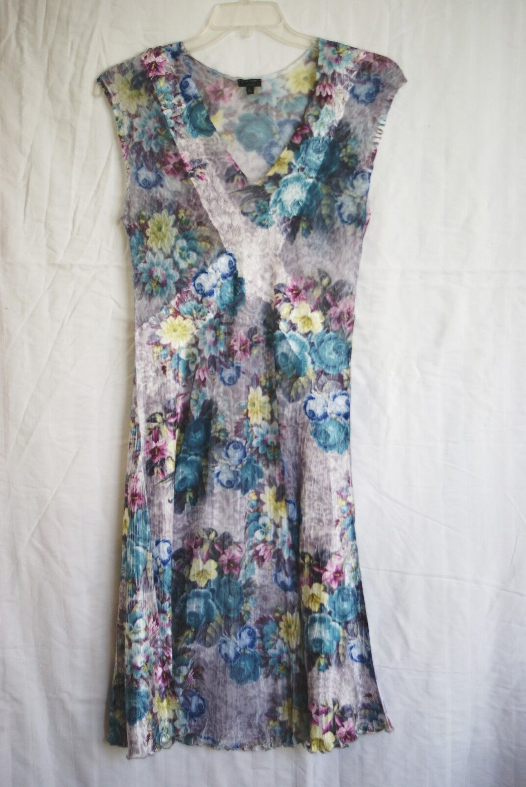 Komarov Floral Print Dress (Size L)