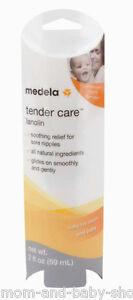 Ernährung Baby Medela Brust Milch Fütterung Nippel Creme Schmerzendes Zart Pflege Lanolin 59ml 100% Original