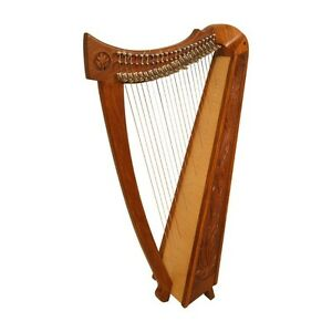 Roosebeck-22-String-Celtic-Balladeer-Harp-by-Zachary-Taylor