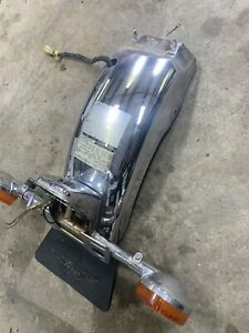 1982 Honda CB900 CB 900 C Rear Fender Tail Light Turn Signal License plate Mount