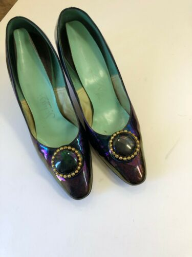 vintage women's heels size 7.5m worn by the mother