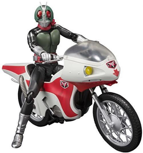Nuevo S. H. FIGUARTS Masked Kamen Rider 1 & Ciclón Set Figura de Acción