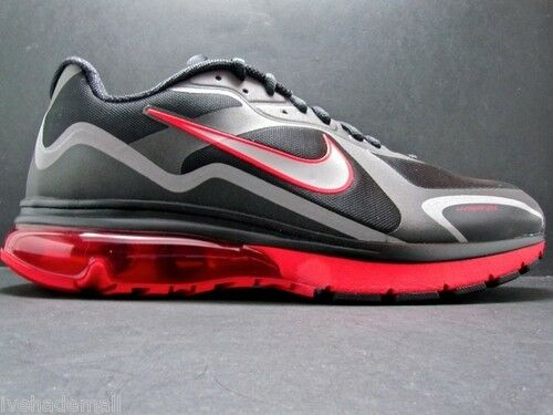 Nike Neu Air Max Alpha 2011+ Neu Nike Gr:41 US:8 Sneaker 90 95 97 NZ R4 Black/Red e4b498