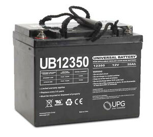 UPG UB12350 12V 35AH SLA Internal Thread Replacement for Interstate BSL1156