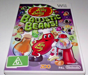 Jelly-Belly-Ballistic-Beans-Nintendo-Wii-PAL-No-Manual-Wii-U-Compatible