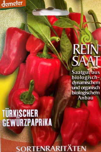 Turchi spezie Paprika-semi-Demeter sementi-di coltivazione biologica Bio