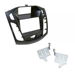 Placa-doble-DIN-coche-Radio-CD-Estereo-Fascia-Facia-Adaptador-Panel-para-Ford
