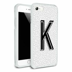 black initial phone case iphone 7