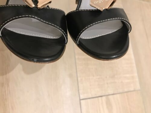 37 Escarpins Sandales Et Dustbag Taille Authentique Avec 5 Rossi Sergio Boîte 7qRXw