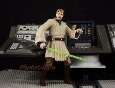 """S290 Hasbro Star Wars 3.75"""" Figure 1:18 General Obi Wan Kenobi Jedi ROTS 2005"""