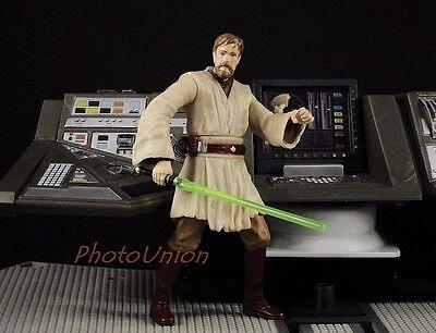 """Hasbro Star Wars 3.75"""" Figur 1:18 General Obi Wan Kenobi Jedi ROTS 2005 S290"""