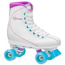 Roller Derby Roller Star 600 Womens Quad Skate Size 8 White/Lavender NEW
