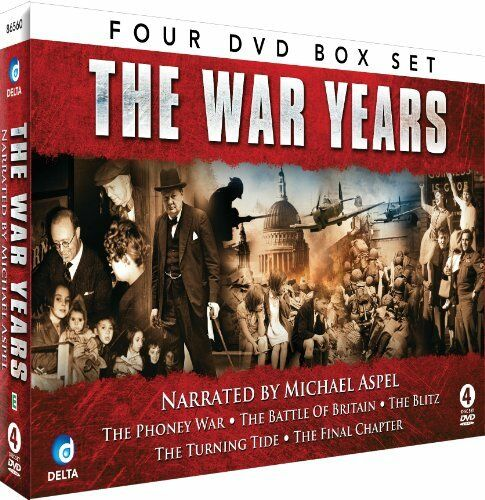 The War Years - Narrated by Michael Aspel [DVD][Region 2]