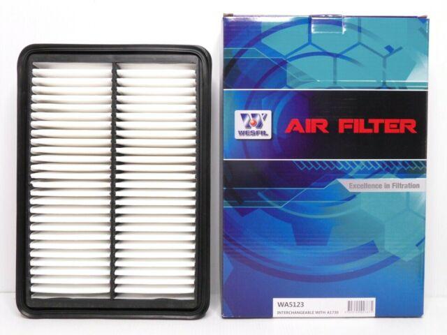 WESFIL Air Filter WA5123 Same as A1730 For Lancer Outlander ASX