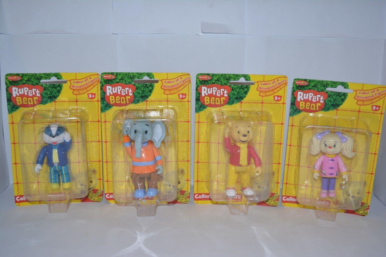 RARE Born to Play Set  completo di 4 Rupert orso da collezione cifra sigillato in fabbrica  fornire un prodotto di qualità