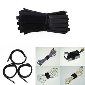 Pasow-50pcs-Cable-Ties-Reusable-Fastening-Wire-Organizer-Cord-Rope-Holder-7-I