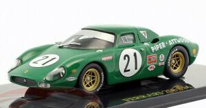 FERRARI-250-LE-MANS-SCALA-1-43-nuovo-modello-di-auto-giocattolo-in-miniatura-Verde-in-miniatura