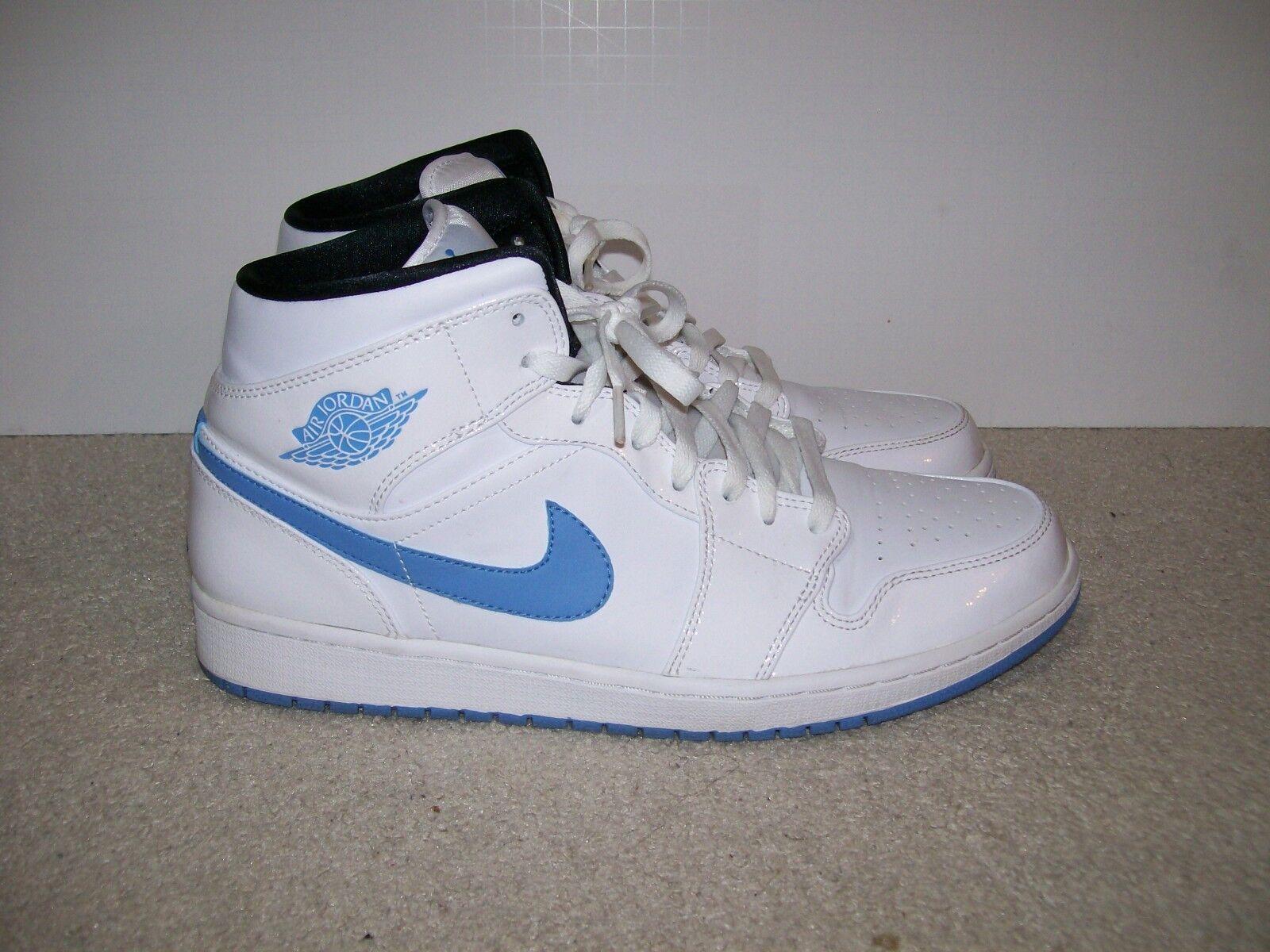 SZ 12 Nike Air Jordan 1 I Mid OG Legend Blau 554724-127 Brot Royal Shadow XI IV