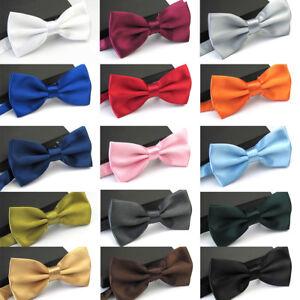 USA Seller Men/'s Tuxedo Classic Bowtie Multi Style Neckwear Adjustable Bow Tie