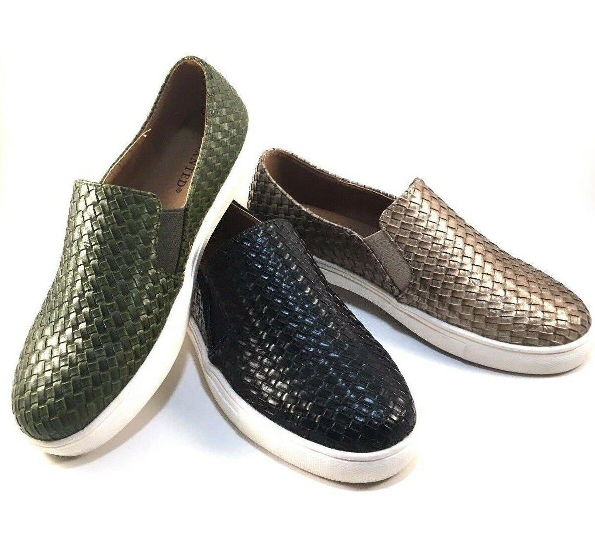 Wanted Boca Round Toe Slip On Sneakers Choose Sz/Color