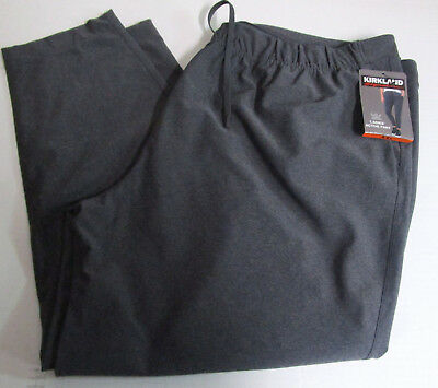 Grey Kirkland Signature Ladies Ankle Length Travel Pants -Black Burgundy Navy