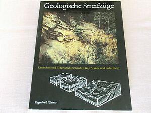 Wagenbreth-Steiner-Geologische-Streifzuege-VEB-Leipzig-1985-TOP-Zustand