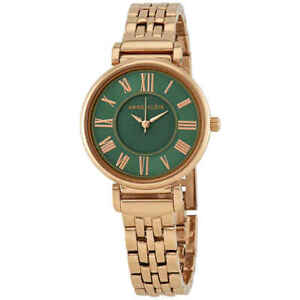 9fa3836f9ad Image is loading Anne-Klein-Green-Dial-Ladies-Watch-AK-2158GNRG