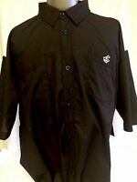 Rocawear Big And Tall Black Button Up Size 5xb With Original Tags